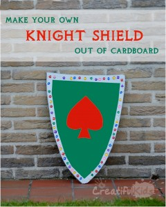 knights shield costume