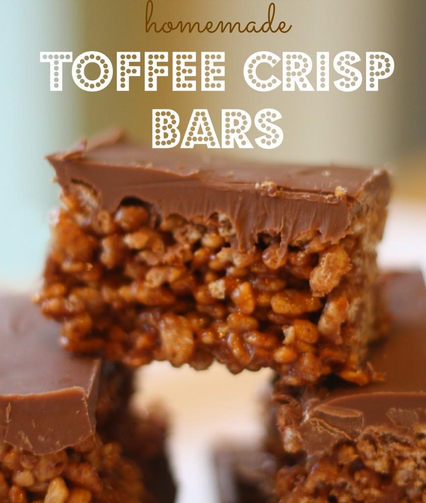 toffee crisp bars recipe