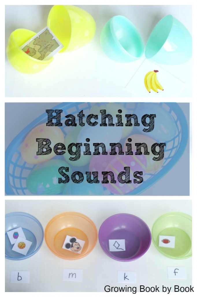 Beginning Sounds Easter Egg game