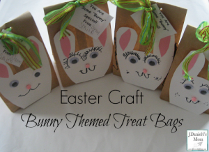 Easter craft: bunny bags