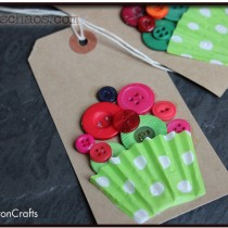 Button Crafts – Button Cupcakes