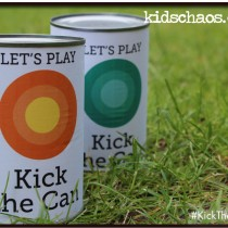 Kick the can – bean tin crafts