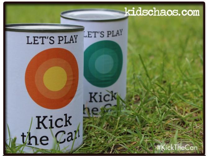 Kick the can – bean tin crafts
