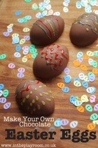 Make your own Chocolate Easter Eggs