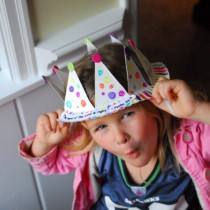 Paper Plate Crafts: Crowns