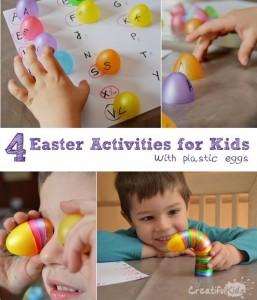 plastic easter egg fun