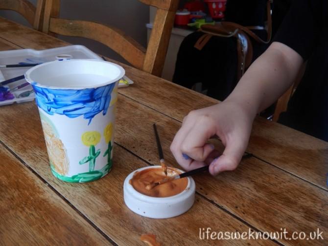 Pot Noodle Doodle Flower Pots