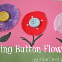Button Crafts – button flowers