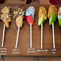 Apple lollies