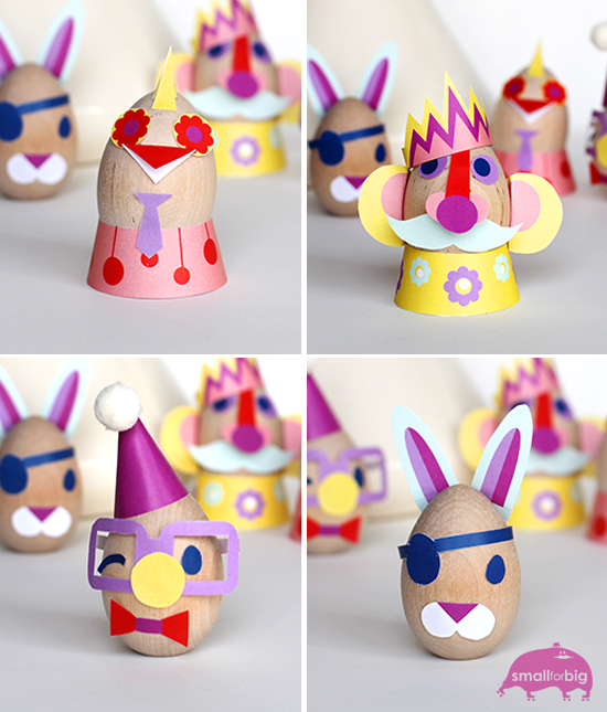 Easter Egg Decorating Free Printables