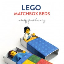 Lego Matchbox Beds (Free Printable)