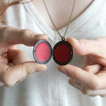 Lip Balm Recipe & Locket
