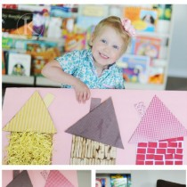 Nursery Rhyme Crafts: Three Little Piggies