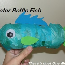 Junk modelling – Water bottle fish