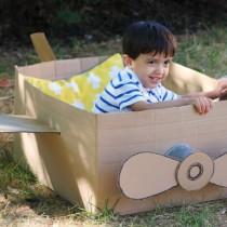 Cardboard Box: Plane