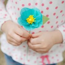Crepe Flower Craft