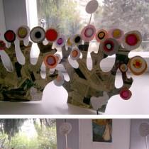 Kandinsky tree craft