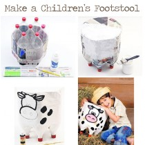 Plastic Bottle Footstool – recycle and reuse the dreaded plastic bottle
