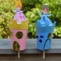 Pop Up Toys: Princess Castles