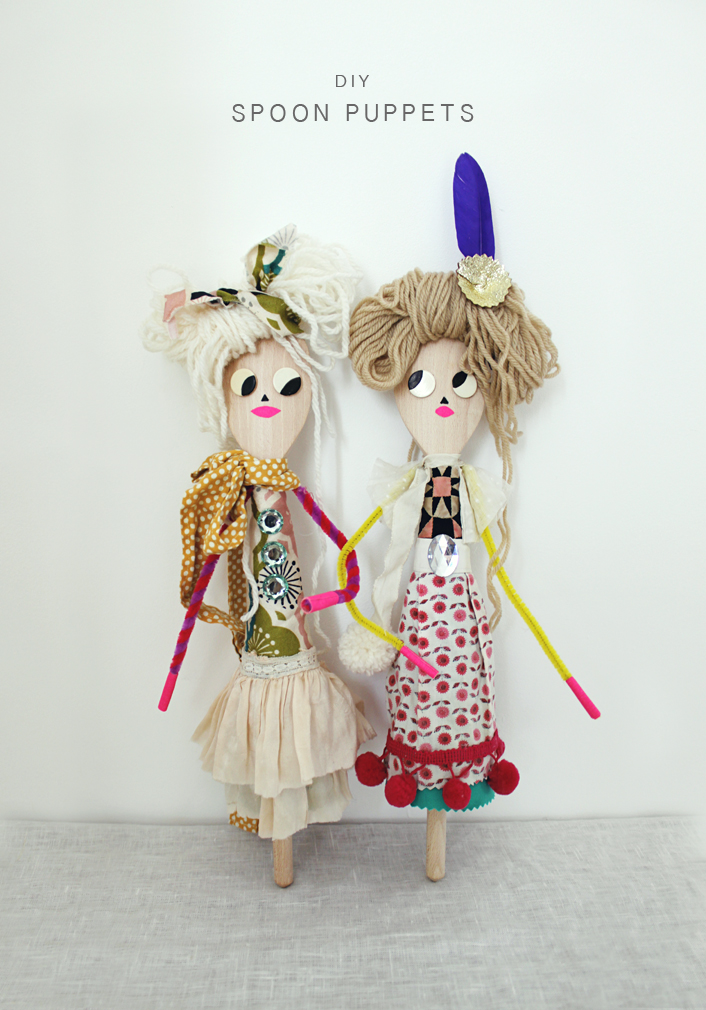 Spoon Dolls crafts for kids