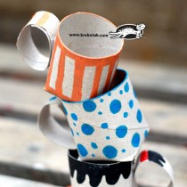 TP Roll Crafts: Teacups/ Coffee Cups