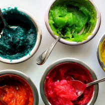 DIY Edible Finger Paint Recipe