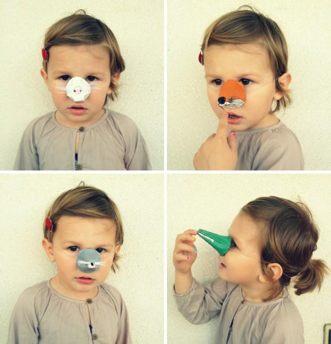 Egg Carton Crafts: Animal Noses