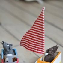 Milk Carton Crafts: Boat