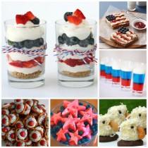 Patriotic 4th July Treats & Desserts
