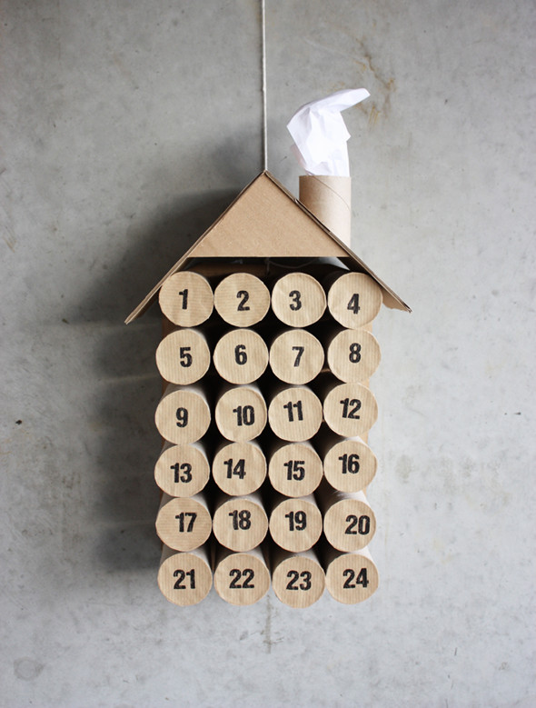 Advent Calendar Ideas – TP Roll House