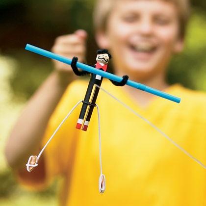 Fun Balancing Acrobat Clothespin