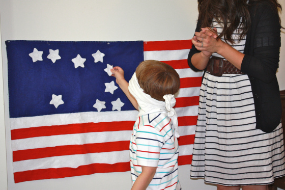 Patriotic Games - 4th of July Games - get ready for your 4th of July Party and these fabulous Patriotic Garden Games for kids to make and play.
