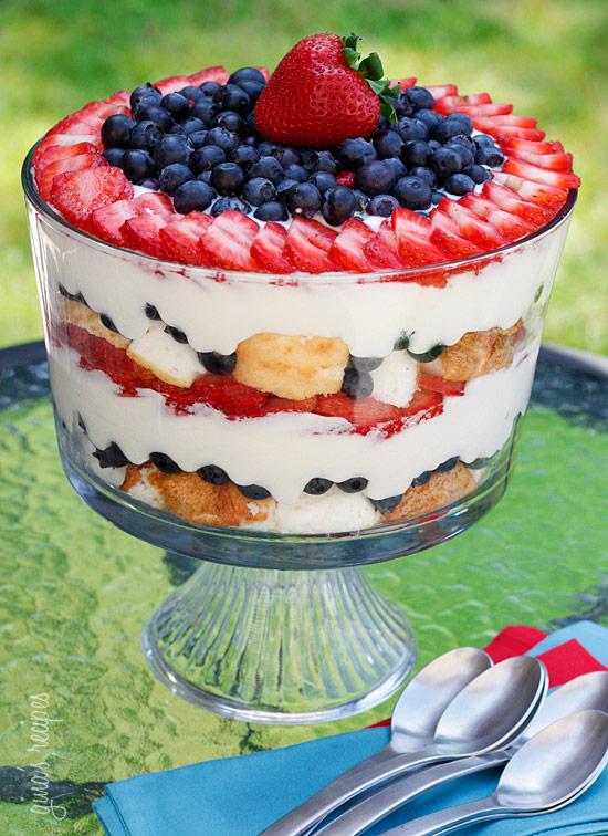 low-fat-berry-trifle