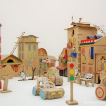 Cardboard Box Play City