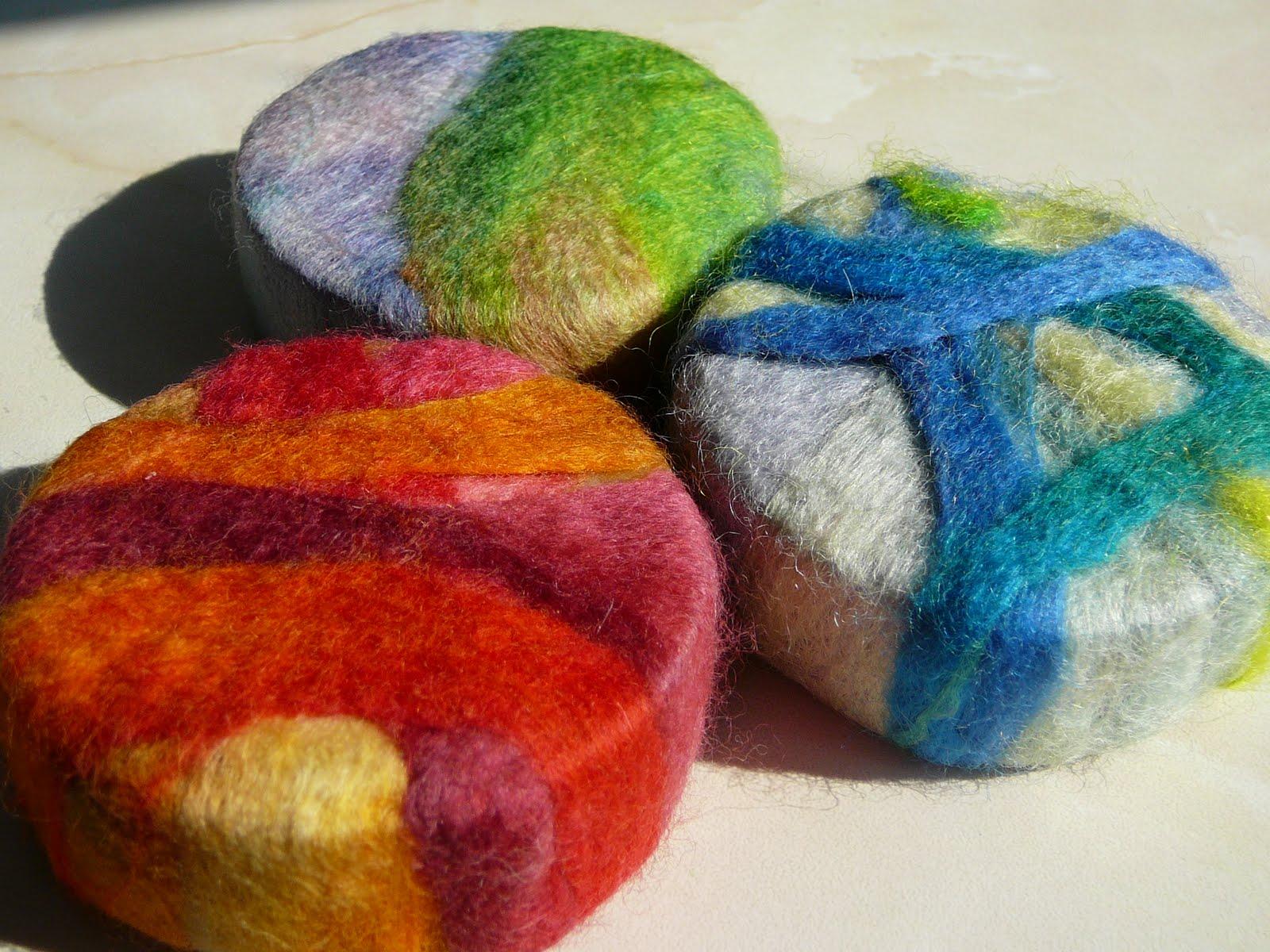 felted soap fun crafts kids. Black Bedroom Furniture Sets. Home Design Ideas