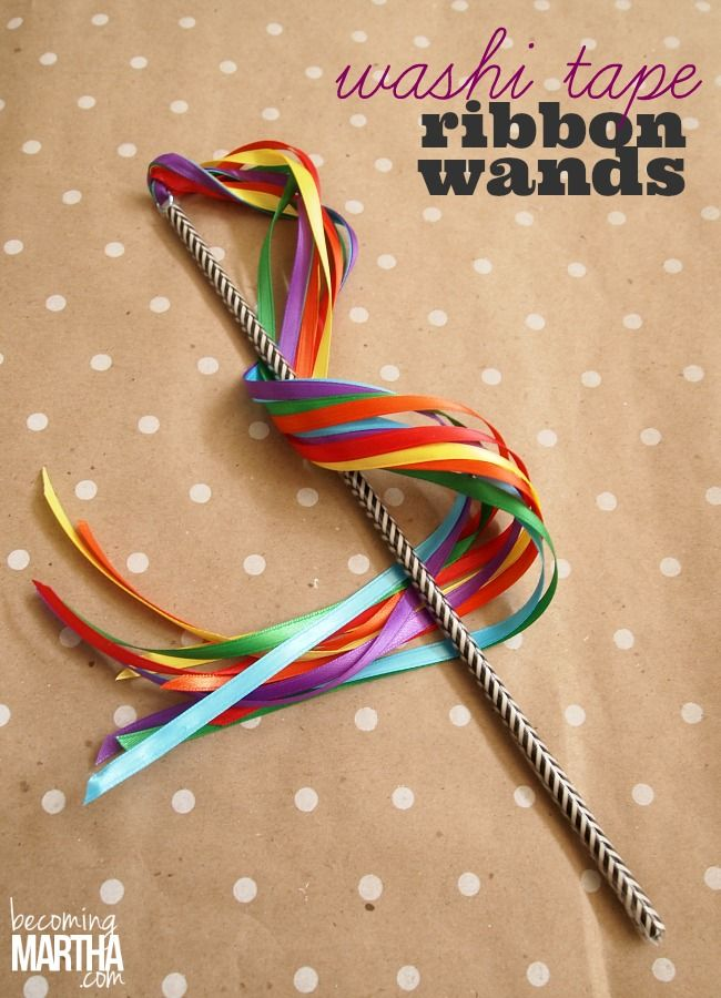 Washi tape wand