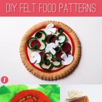 Felt Food Patterns