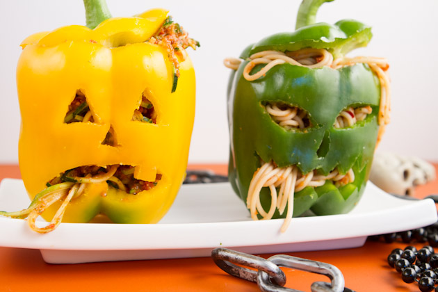 Stuffed Jack O'Lanterns Kids' Meal