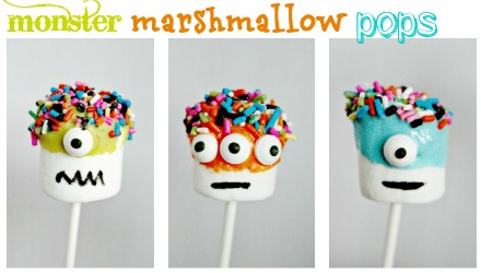 Super Easy Monster Pops