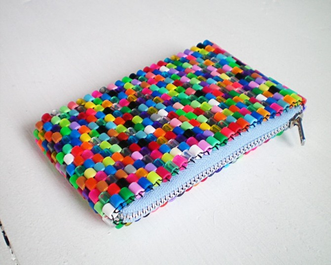Perler Bead Purse or Pencil Case