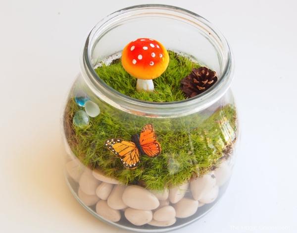 Easy Moss Terrarium