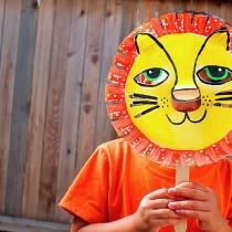 Gorgeous Paper Plate Lion Mask