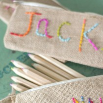 Embroidery for Kids – Pencil Case