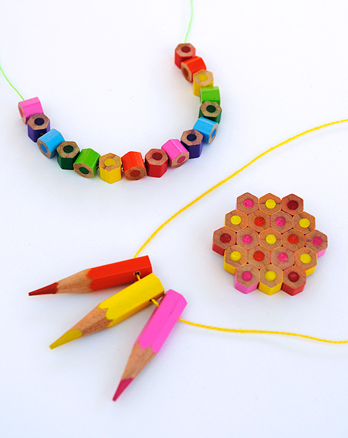 pencil jewelry crafts