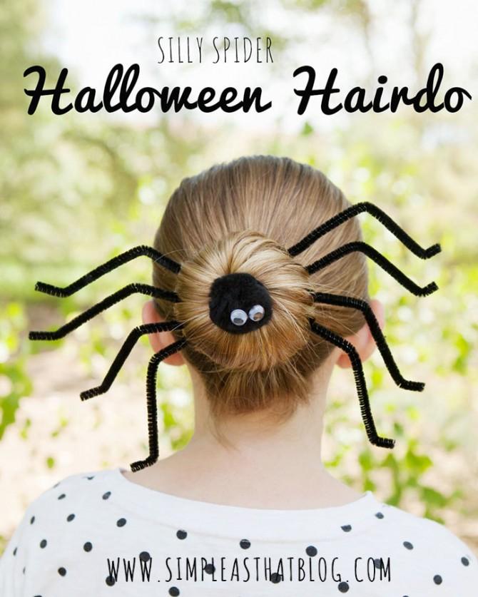 Halloween Hair Do