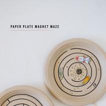 Paper Plate Maze
