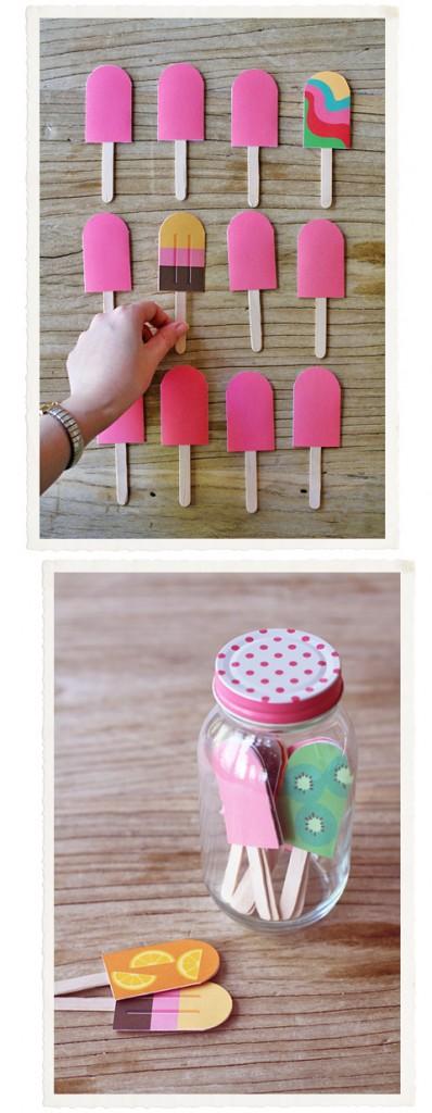 DIY Popsicle Game