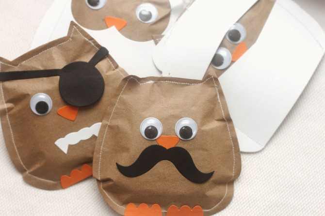 Halloween Treat Bags – What a Hoot!