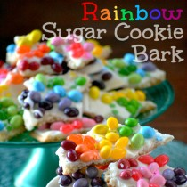 Rainbow Bark Treats