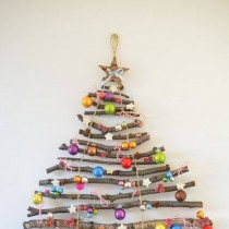 Christmas Tree Crafts from Sticks